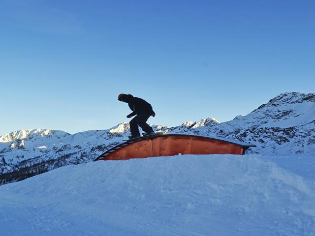 Aperto lo snowpark di Ravina