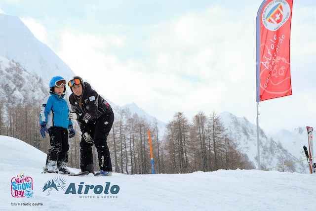 Le immagini del World Snow Day