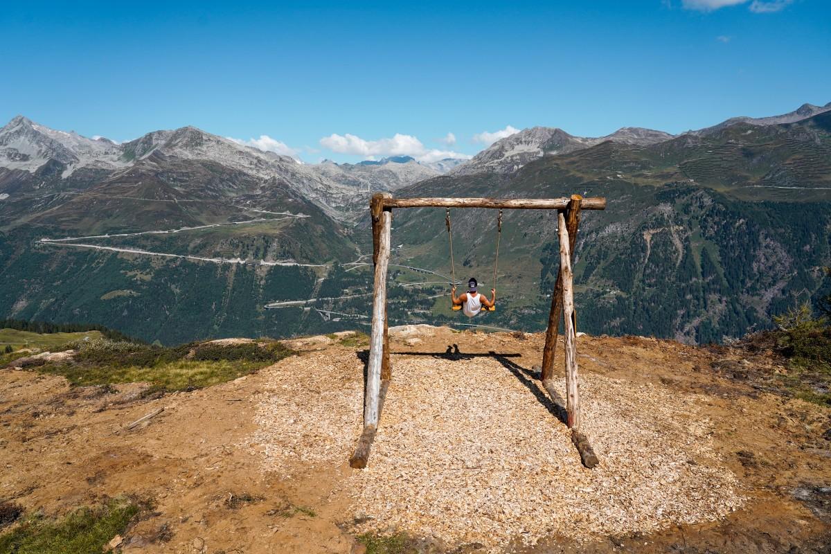 Nuova altalena panoramica Swing the World
