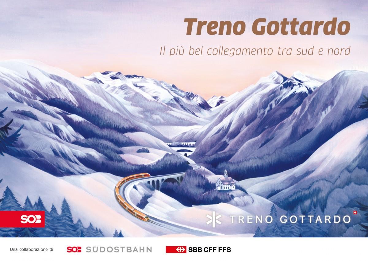 Treno Gottardo: Il più bel collegamento tra nord e sud