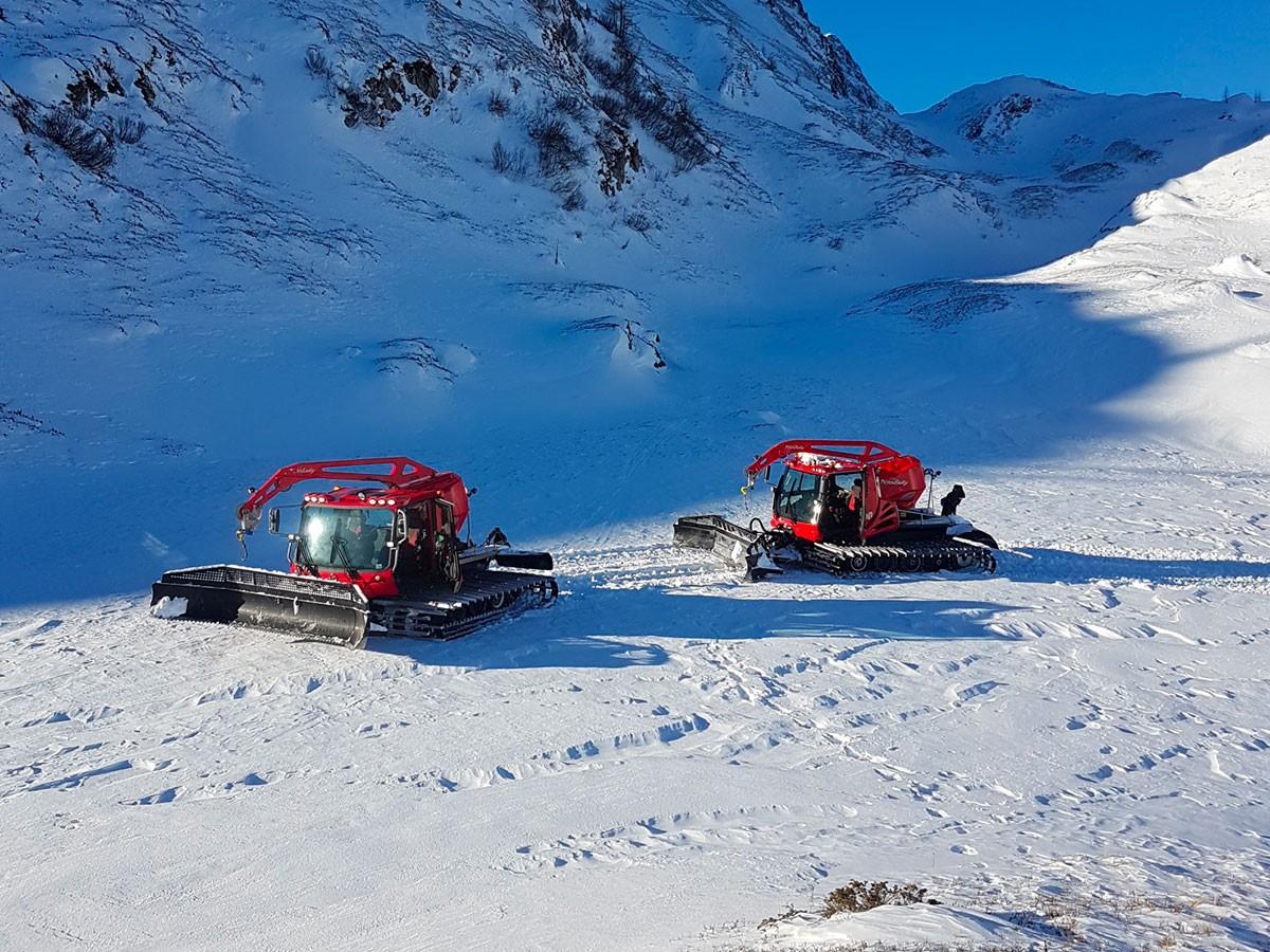 Neve programmata per un'offerta di qualità